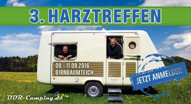 3. Harztreffen für alle DDR-Campingfreunde