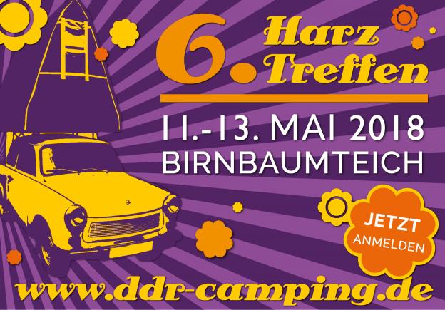 6. Harztreffen für alle DDR-Wohnwagenfreunde