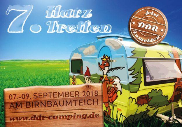 7. Harztreffen für alle DDR-Wohnwagenfreunde