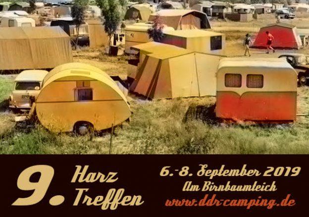 9. Harztreffen für alle DDR-Wohnwagenfreunde