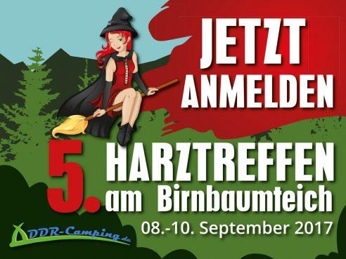 5. Harztreffen für alle DDR-Campingfreunde