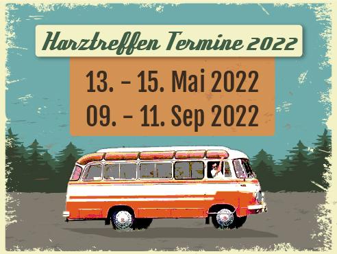 Termine für 2022