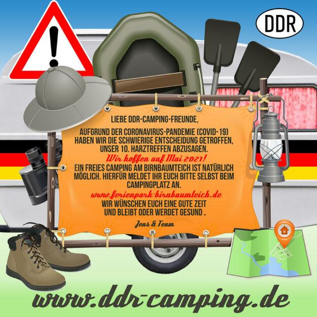 Absage 10. Harztreffen (September)